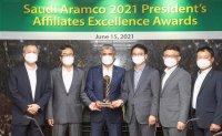 S-Oil wins best affiliate award from Saudi Aramco