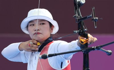 Korean archer Kang Chae-young eliminated in individual event