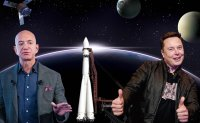 Private companies spearhead global space race