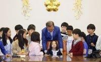 President Moon celebrates Children's Day [PHOTOS]