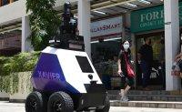 Singapore patrol robots stoke fears of surveillance state