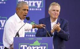 Obama sharply criticizes Youngkin in Va. governor's race