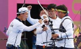 Korea stuns the world after winning third gold in archery