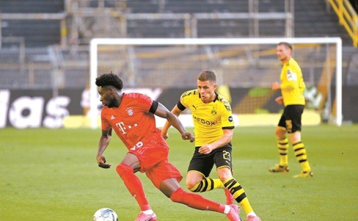 'Bayern Road Runner' Davies shines against Dortmund