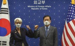 Sherman, FM Chung reaffirm efforts to bring North Korea to dialogue table