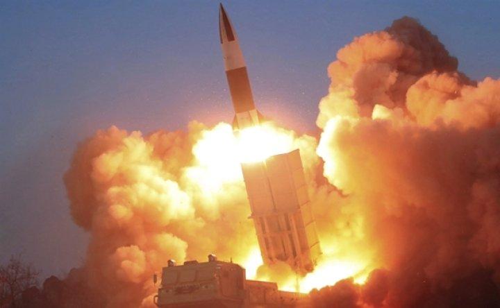 N. Korea fires 2 short-range ballistic missiles into East Sea