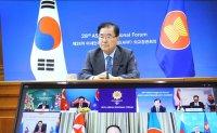 South Korea's foreign minister reiterates calls for North Korea's return to dialogue