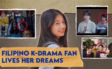 Filipina K-drama fan appears in more than 60 Korean dramas [VIDEO]