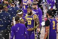 'King James' has Lakers eyeing return to throne