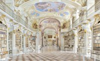 Libraries as repositories of human culture and history, captured in photos