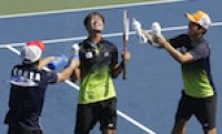 South Korea captures two golds in team soft tennis