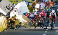 Cyclist gets 9-month ban for crash that left rival in coma