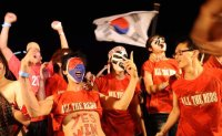 Korea keeps in tune for World Cup