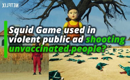 Dutch version of 'Squid Game' shoots unvaccinated people
