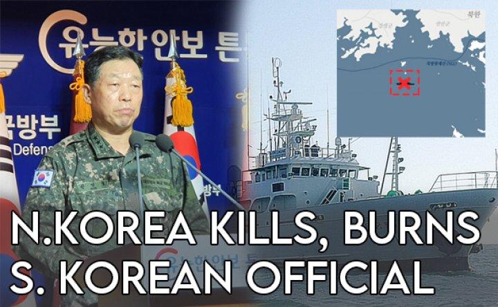 North Korea kills, burns body of South Korean official [VIDEO]