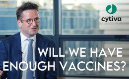 [CEO INTERVIEW] Will we have enough vaccines for COVID-19? [VIDEO]