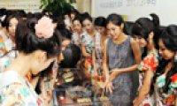 Miss Korea winner holds 'hanji' exhibition